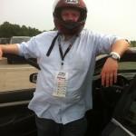Joshua started racing cars